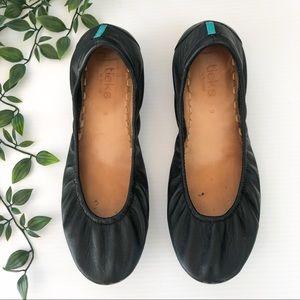 Tieks   Matte Black Packable Ballet Flats